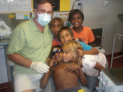 Dr Tim Hart provides volunteer dental care to those in need
